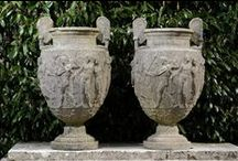 Urns and planters / A selection of urns and planters to enhance the garden