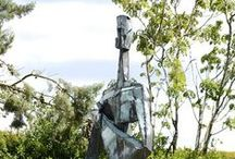 Modern sculpture for the Garden / An exciting and eye catching collection of sculpture for the garden