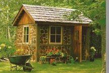 Garden Sheds / Garden sheds for potting, keeping plants in winter, etc.