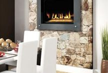 Fireplace Whitby / Fireplaces are either direct vent or inserts.  Direct vent fireplaces are designed to be vented directly out the outside wall.  Inset fireplaces are designed to be inserted into an existing wood burning fireplace. A chimney liner is required to be installed with an insert fireplace. These are the best fireplaces in Whitby!