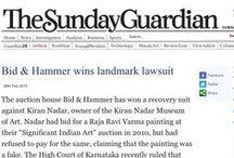 Bid & Hammer wins landmark lawsuit / The Sunday Guardian, 1st March 2015