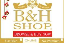 B&H Shop / The 'B&H Shop' is an online store for affordable art, antiques, jewellery, furniture, home decor and other exciting gifts & collectibles, launched by Bid & Hammer. Visit: www.bnhshop.com