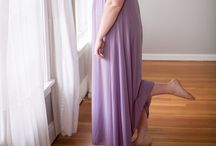 HERA FULL LENGTH GOWN / Our Precious Curves Hera Full Length Gown comes in a sumptuous lavender and is sure to flatter every woman's figure while providing support where it is needed most.