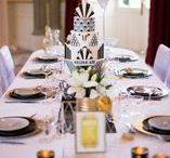 GATSBY WEDDING / Mariage ambiance thème Gatsby le magnifique  art deco