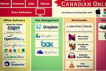 Free Software for School! / Software that is universally compatible for Mac, Windows, Linux. All in one spot!