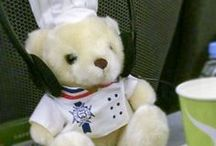 Béchamel Bear / Le Cordon Bleu Bechamel Bear loves traveling around the world.