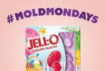 Think Inside The Mold / If you can dream it, chances are there's a mold for it. Or something close.  / by JELL-O