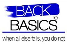 Back To Basics / Basics are a must for every wardrobe as it  will give you amazing versatility and fashion combinations with wonderful style and comfort.