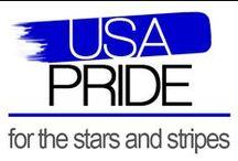 USA Pride Leggings