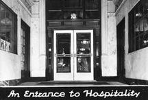 """An Entrance to Hospitality"" / We opened our doors on July 16th, 1927 as the Bergonian Hotel."