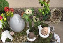 Easter. Hasige Zeiten & Ostergestecke / Osterideen & Dekoration some of them made by myself