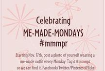 Me-Made-Mondays PR / Starting Nov. 17th post a photo of yourself wearing something me-made. tag it #mmmpr  Prizes every week until Dec. 31st!  / by PatternReview