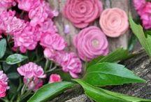 PINK / Rózsaszín #filcvirágok  #handmade #feltflowers #pinkpastelhu #virágkorona #virágkoszorú #hajpánt #fejpánt