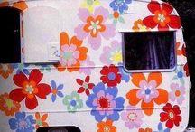 Caravan / Ideer for å pusse opp min lille retro campingvogn.