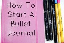 Bullet Journals / All things journal/planner related