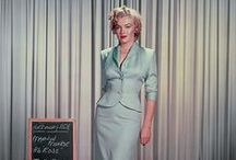 Marilyn's films wardrobe. / Marilyn's costoumes film tests.