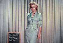 Marilyn's films wardrobe. / Marilyn's costoumes film tests.