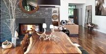 Contemporarily Rustic / Naturalistic design with clean lines