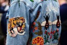 Denim Styles / Jeans Inspiration jeglicher Art, egal ob Jacke, Hose, Rock, Kleid und Accessoires. Denim all over