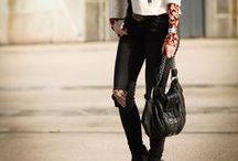 Cutout Styles / Cutout Looks, Löcher und kaputte Jeans, Sweater, Jacken, Hosen usw.