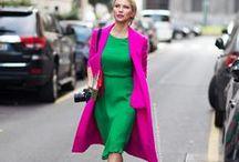Pink Styles / Verschiedene Looks mit der Ausgangsfarbe Pink