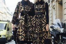 Bestickte Mode Styles / Bestickte Bekleidung