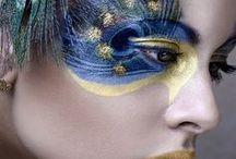 Aufregende Make Up Kreationen / Make Up Kreationen der besonderen Art