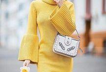 Pulloverkleider / Tolle Stylingideen mit Strickkleider!!
