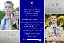 Eagle Scout Ideas / Collection of ideas and inspiration that I used for the COH of both of my Eagle Scout sons. / by Theresa Maxwell