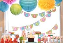 Birthday Party Ideas / Birthday party ideas: decorations, recipes, games and activities for the perfect kid's birthday party!