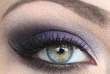 dark/bright makeup / by Hosanna Hill