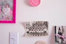 50 SHADES OF PINK / the board is now complete.