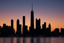 "Chi-town / ""I adore Chicago. It is the pulse of America.""  ~~ Sarah Bernhardt / by Lori Cink"