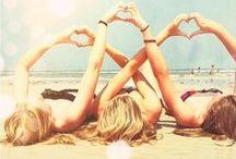 Beach Life  / #beach #ocean #sea #breeze #sand #toes #drinks #fun #life #relaxation #vacation #beautiful #carefree #swim #swimsuit #bikini #love #sun #hot #tan #tanned #suntan #suntanned #bronze #freckles