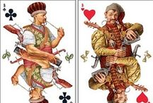 game cards / ∮ game ∮ cards ∮ tarot ∮  / by Daniel Portmann