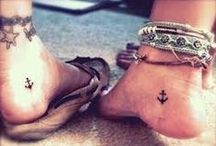 Beach Tattoos / #tattoo #tattoos #beach #life #love #fish #starfish #mermaid #scales #wave #turtle #anchor #sailing #sand #ocean #sea #breeze #birds #ink