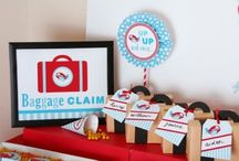 Airplanes birthday ideas! / Ideas for the party! / by Alicia Lovell