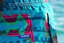 Crasqi Mens Swimwear 2015: Geometric & Vibrant / by Orchid Boutique Bikinis