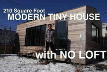 Tiny House & Studio / Live small, live simply & paint!