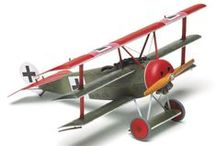 WWI aircraft models / Aircraft from the era of the Red Baron.