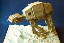 Star Wars scale models