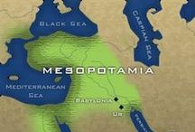 [Ancient] Mesopotamia / Mesopotamia is a name for the area of the Tigris–Euphrates river system, corresponding to modern-day Iraq, the northeastern section of Syria and to a lesser extent southeastern Turkey and smaller parts of southwestern Iran. Widely considered to be the cradle of civilization in the West, Bronze Age Mesopotamia included Sumer and the Akkadian, Babylonian, and Assyrian empires, all native to the territory of modern-day Iraq. In the Iron Age, it was controlled by the Neo-Assyrian and Neo-Babylonian / by Rata Maka