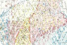 Rachel Clore / Textile designs and work by Rachel Clore. See more at rachelclore.com & at http://society6.com/rachelclore