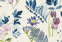 PATTERN // floral / Floral & Botanical prints (hand & digital)