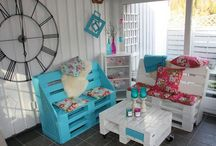 Pallet Furniture  / by Jennifer Powell-Dyer