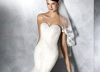 Pronovias / We are now the exclusive Okanagan retailer of these stunning, cutting edge European bridal designs.