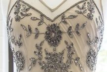 Beads and pearls and lace oh my / Beautiful detail pictures to see close up some of the amazing craftsmanship of dresses and gowns we carry