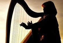Harp / Harps and other music instruments