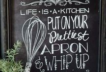 black color in the kitchen...