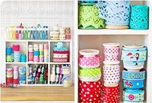 Making | Yarn & Craft Storage / Because all those skeins and fabrics have to go SOMEWHERE (that is not the sofa)